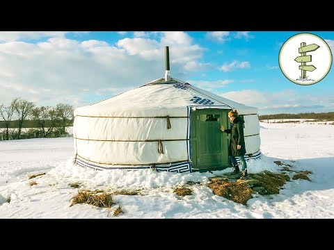 Amazing One Of A Kind Yurt - Full Tour + Pros & Cons Of Yurt Living