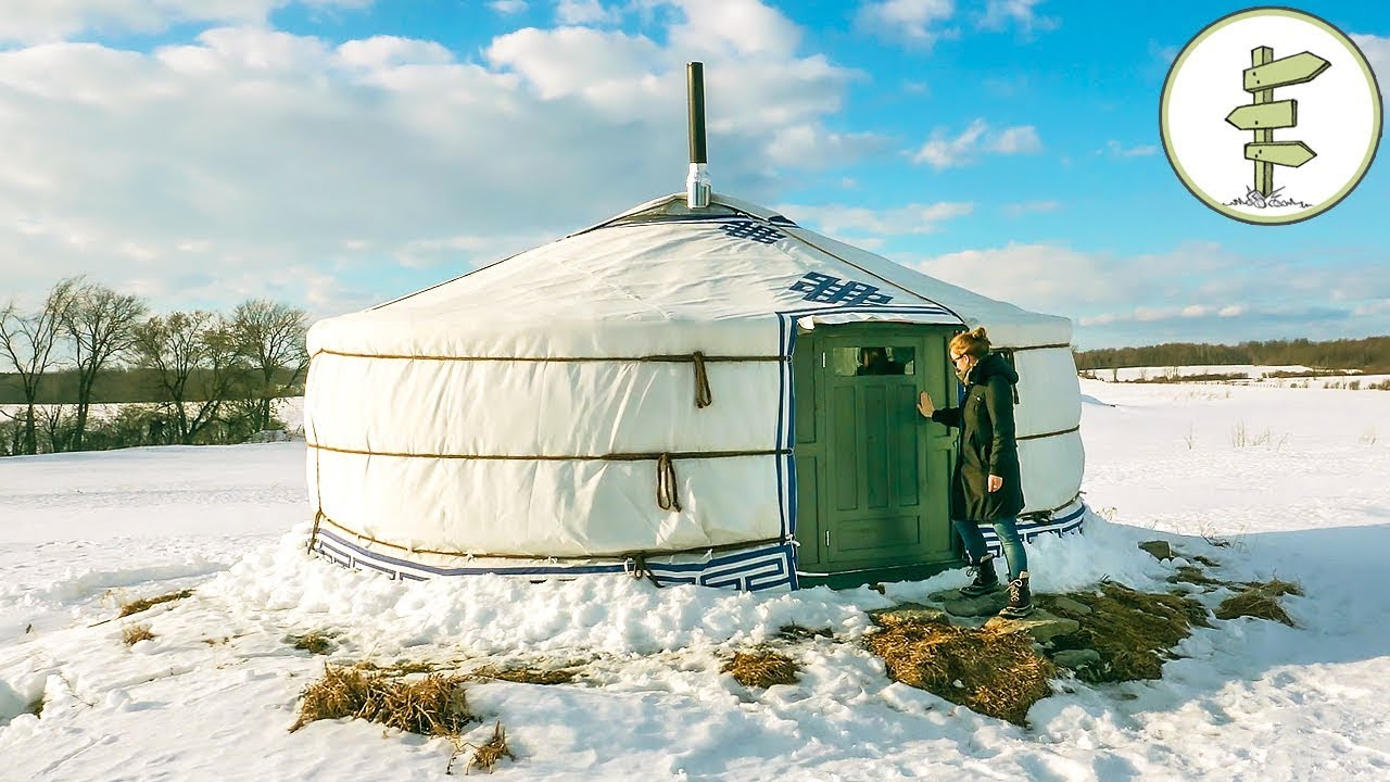 Amazing One Of A Kind Yurt Full Tour Pros Cons Of Yurt Living Youtube