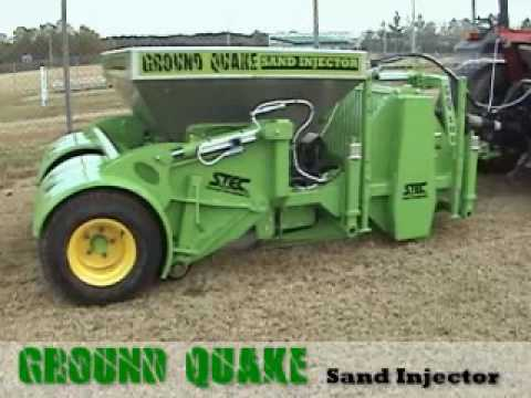 Ground Quake Sand Injector - STEC Equipment