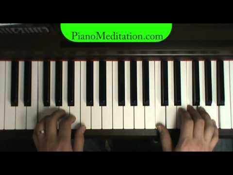 Hold Us Together - How to Play Contemporary Christian Piano - pianomeditation.com