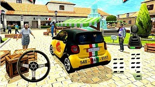 Pizza Delivery Driving Simulator #2 - Bike and Car Game Android gameplay