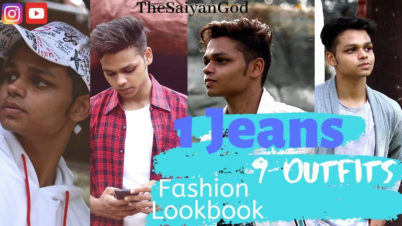 [VIDEO] - 9 Different Outfits with a Basic Black Jeans | Indian Men's Fashion Lookbook | Fashion Inspiration 2