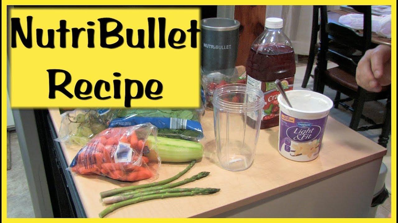 NutriBullet Recipes ~ Magic Bullet