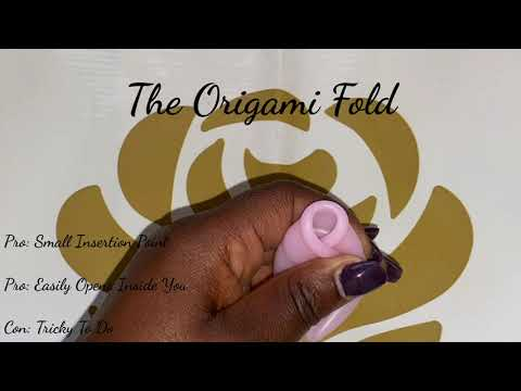 A Quick Video on How to Do the Origami Fold - Women's Haven Menstrual Cup Series