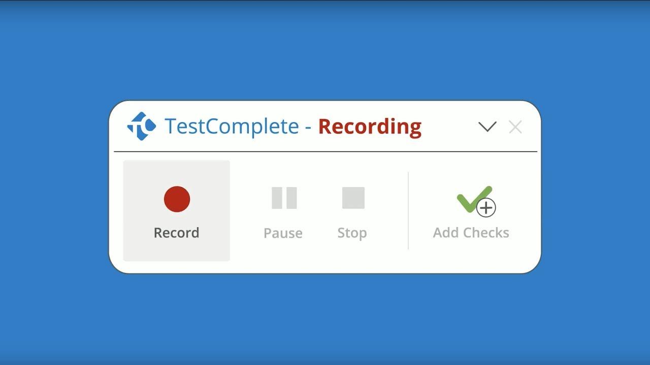 TestComplete: The Easiest-to-Use Automated UI Testing Tool