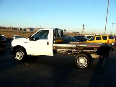 2006 Ford F350 Diesel 4X4 Truck w/ Dew Eze Hay Bale Pick Up Hauler Cattle Ranch Truck For Sale.MOV