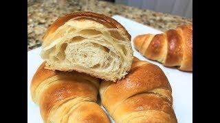 КРУАССАНЫ  Изумительные. Быстрое Слоёное Тесто. Простой рецепт. Croissants