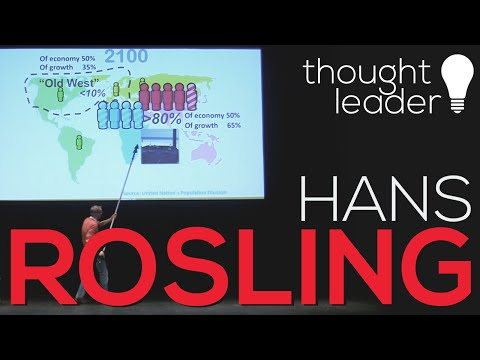 The distribution of the world's population | Hans Rosling |