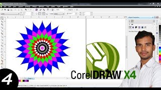 Corel draw logo design basic tutorial in Hindi lessons -4