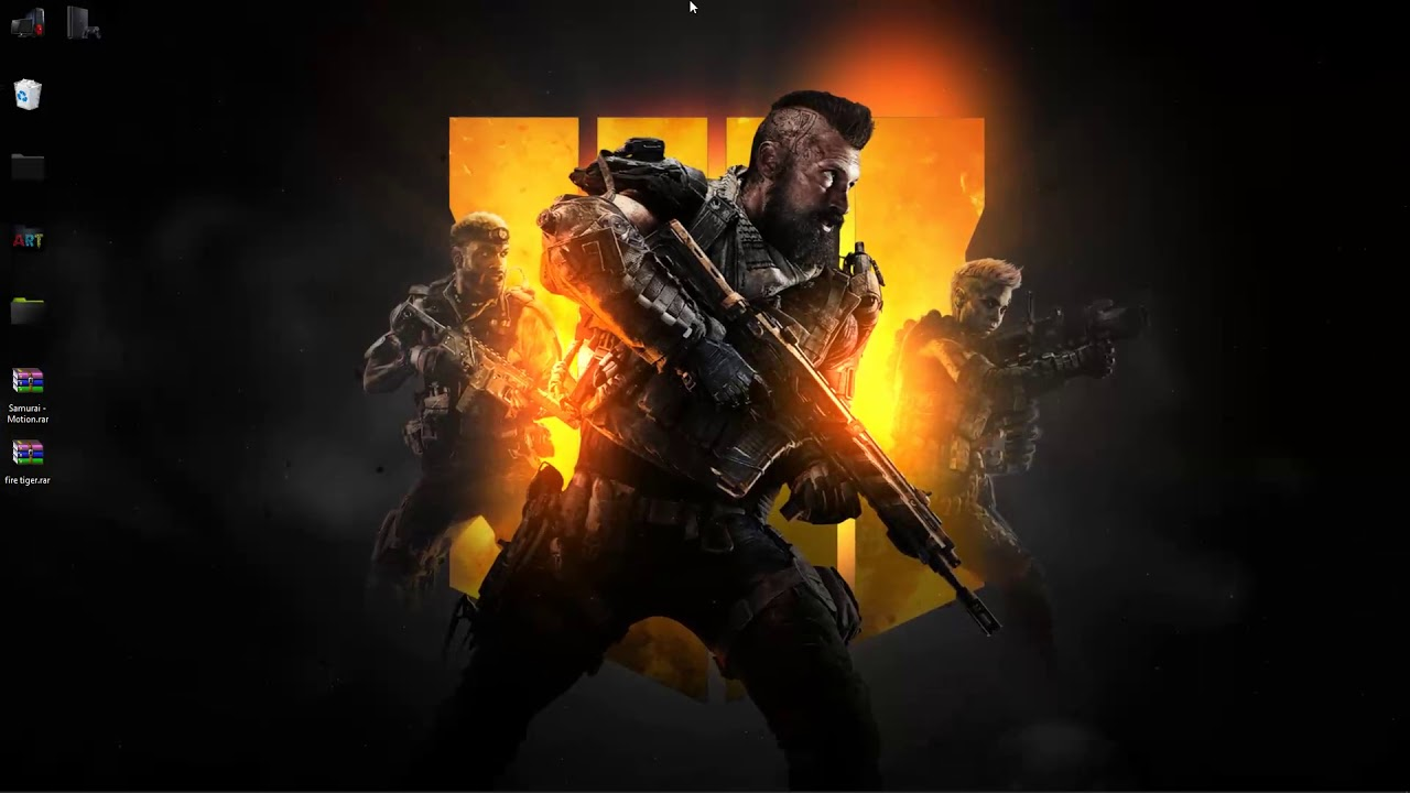 wallpaper engine Black Ops 4 live