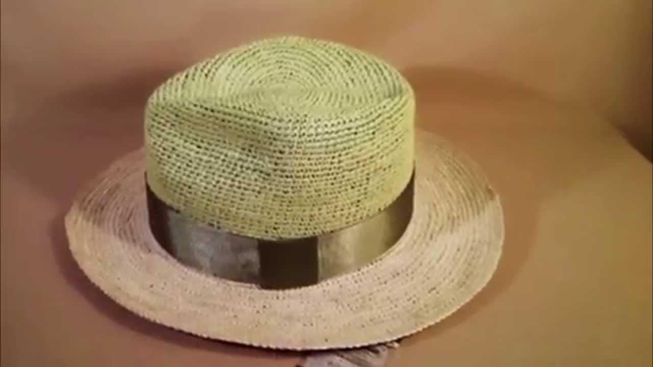 Sombreros finos de palma (paja toquilla) Ecuador - Toquilla Palm  (Carludouvica Palmata) - YouTube 80d0813746a