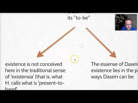 Being & Time:  What an Existential Analytic of Dasein is Not