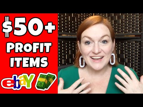 30 ITEMS To SELL For OVER $50 On EBAY | High Profit Things To Flip On Ebay