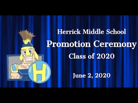 Herrick Middle School Promotion - Class of 2020