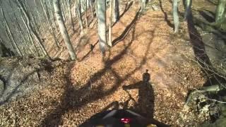 Slnecne skaly trail 23 3 2015. Rajecke Teplice (Martin Knapec)