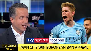 BREAKING NEWS: Manchester City WIN European ban appeal