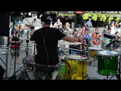 Night Club Drummer - Montreal Nascar 2012