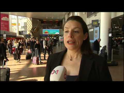 Nouveau sas de contrôle des bagages et des passeports à Brussels Airport