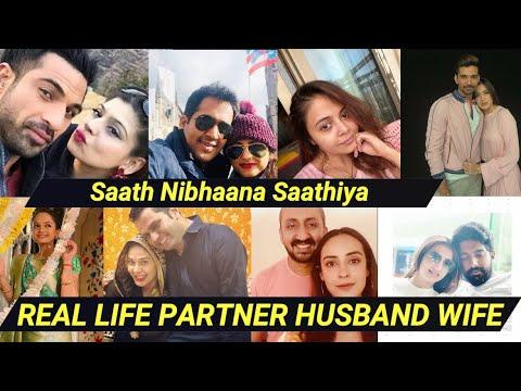 Real life Partner Wife Husband Of Saath Nibhaana Saathiya Actors!