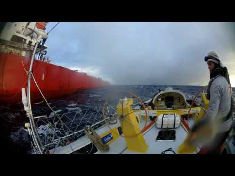 Container ship collision