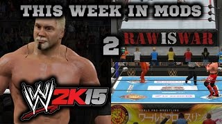 New Wrestlers & New Arenas : This Week in Mods 2 WWE 2K15 PC
