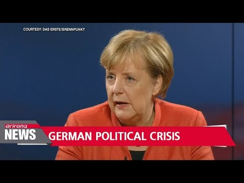 Merkel signals readiness for new election after coalition talks fail