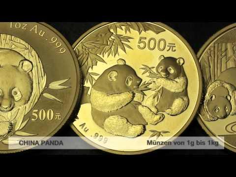 Goldmünze China Panda (China)