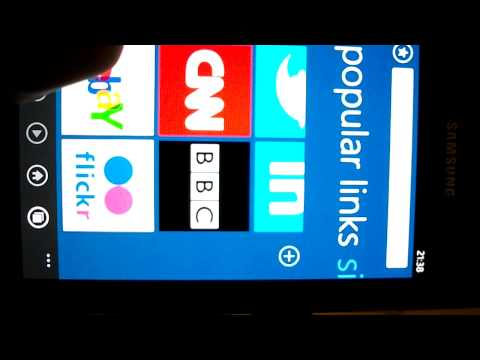 baidu browser on wp7