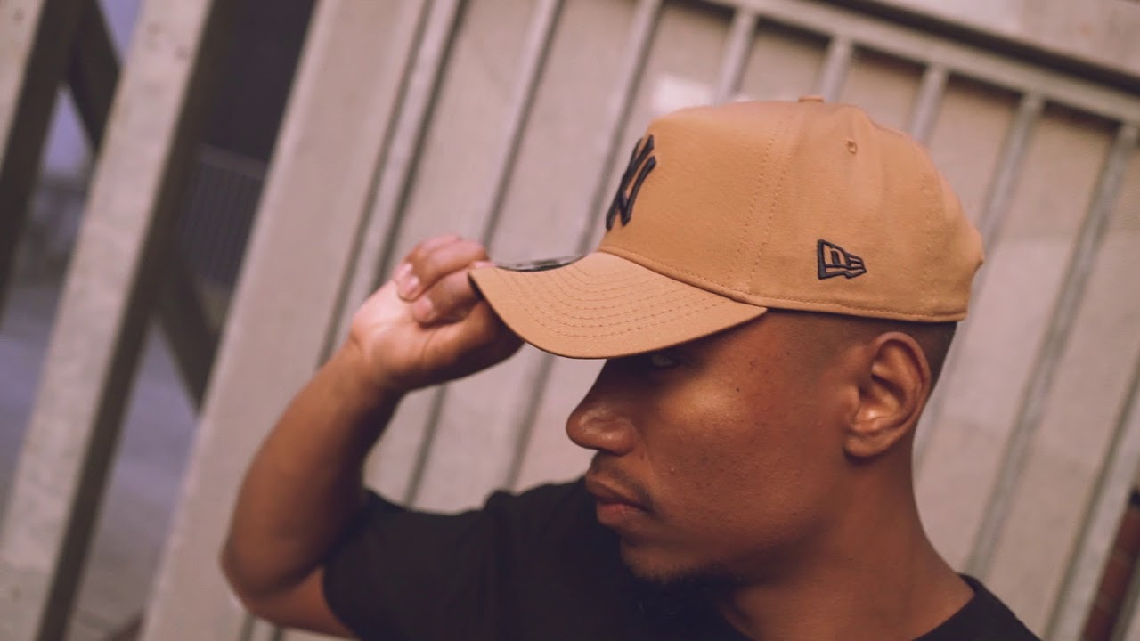5c7c9bff9 New Era Wheat 940 A-Frames With Navy Undervisor 🔥