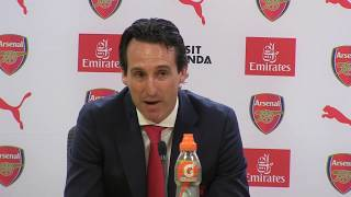Unai Emery thanks Arsene Wenger during first statement as Arsenal head coach