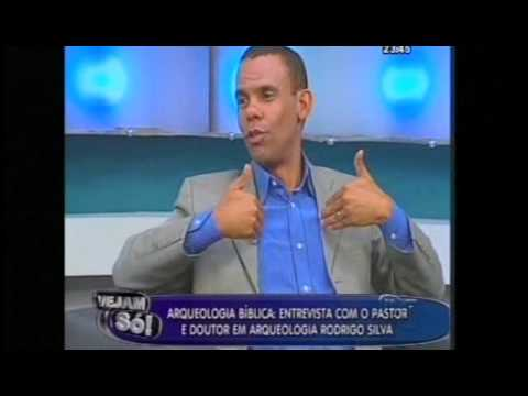VEJAM SÓ - Arqueologia Bíblica - Entrevista com o Pastor e Doutor em arqueologia Rodrigo Silva