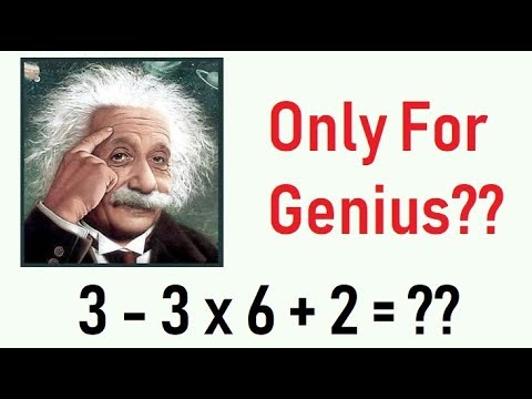 Maths Puzzle - Only For Genius
