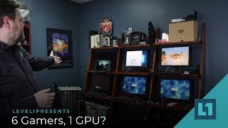 6 Gamers, 1 GPU? VMWare Makes It Possible!