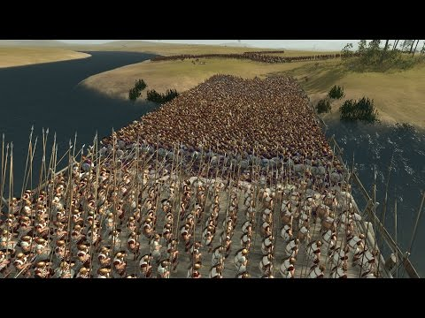 300 SPARTANS vs 6000 BEST CARTHAGINIAN UNITS - Total War: ROME 2