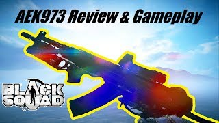 Black Squad - AEK973 Review ᴴᴰ (BEST GUN IN THE GAME???)