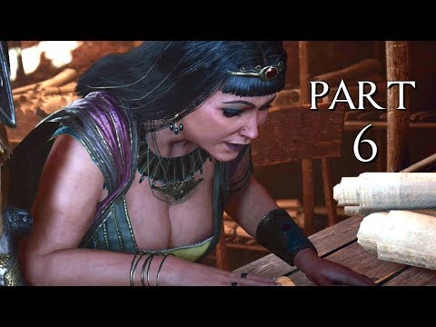 "ASSASSIN'S CREED ORIGINS CURSE OF THE PHARAOHS ""TAHEMET"" Walkthrough Gameplay Part 6 (AC Origins)"