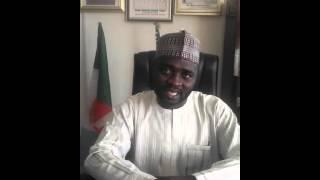 Honorable Shehu Musa Tafa. Chairman, Kagarko Local Government of Kaduna State of Nigeria.