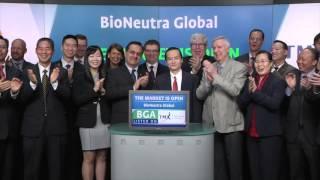 BioNeutra Global Corporation (TSXV:BGA) opens TSX Venture Exchange, February 8, 2016