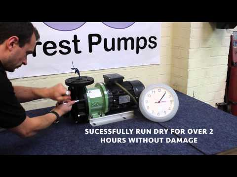 Mag Drive Pumps -  Running dry example without Damage