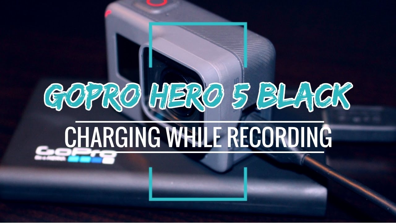 how to use gopro while charging