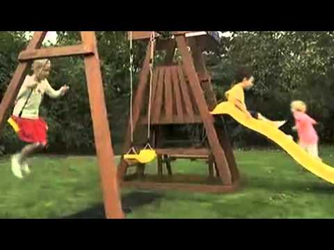 Plum Indri Wooden Play Centre | Outdoor Toys | ELC UK