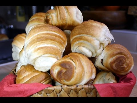 Kifle/Kroson/Croissant me buter (instrukcione hap-pas-hapi)