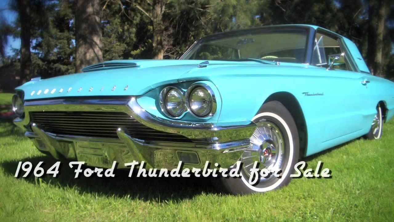 1964 ford thunderbird for sale