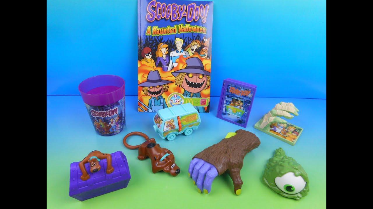 2014 scooby doo a haunted halloween set of 8 mcdonald's happy meal