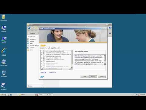 SAP Basis Post Installation Activities - No Audio