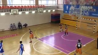 Баскетбол школьники