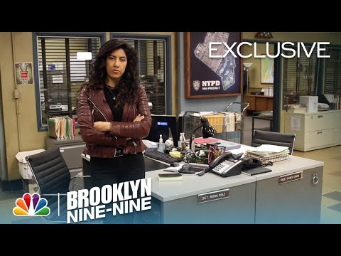 Rosa's Precinct Tour  Season 4  BROOKLYN NINENINE