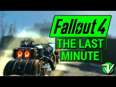 FALLOUT 4: How To Get THE LAST MINUTE Gauss Rifle in Fallout 4! (Unique Weapon Guide)