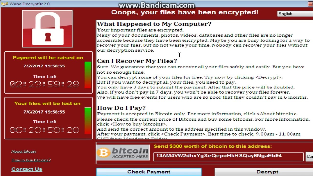 WannyCry Ransomware Test Demo ( RIP Windows 7 ) - YouTube