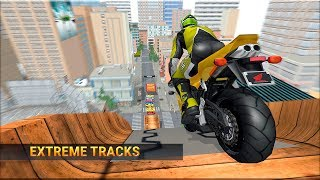 Mega Ramp Bike Stunts - Quad Bike Racing Simulator - Gameplay Android game